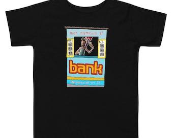 Men numewo a Bank Bolet Toddler Short Sleeve Tee by Les Aventures de Kiki