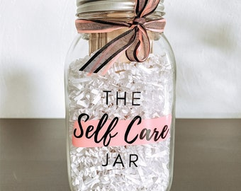 Self Care Jar Etsy