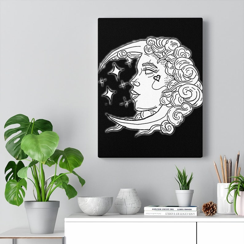 Canvas Gallery Wraps Moon Child