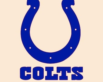 Indianapolis Colts Vinyl Decal Decal for laptop windows wall car boat g