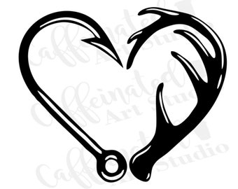 Download Fish Heart Buck Etsy