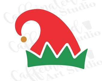 Elf Hat Svg Etsy