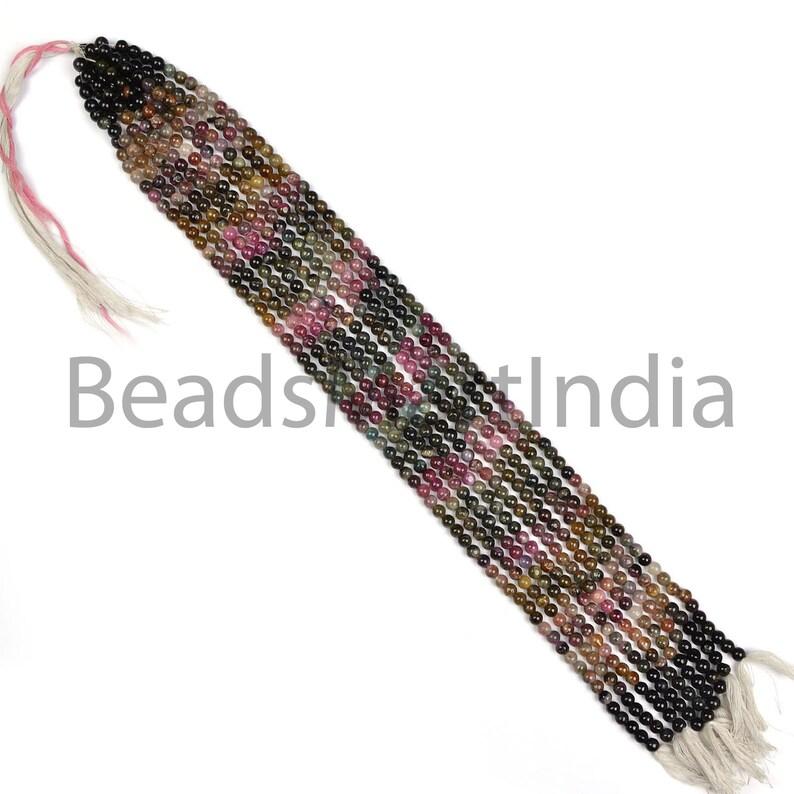 Multi Tourmaline Beads Multi Tourmaline Round Beads Multi Tourmaline Plain Round Beads,Tourmaline Smooth Beads,Tourmaline Beads