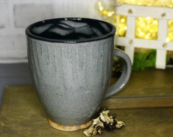 Carved Swirl Mug