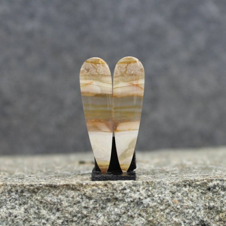 opalized wood pair