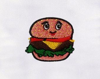 Junk Food set of 10 Filled Stitch Machine Embroidery DesignsFast FoodTake-aways