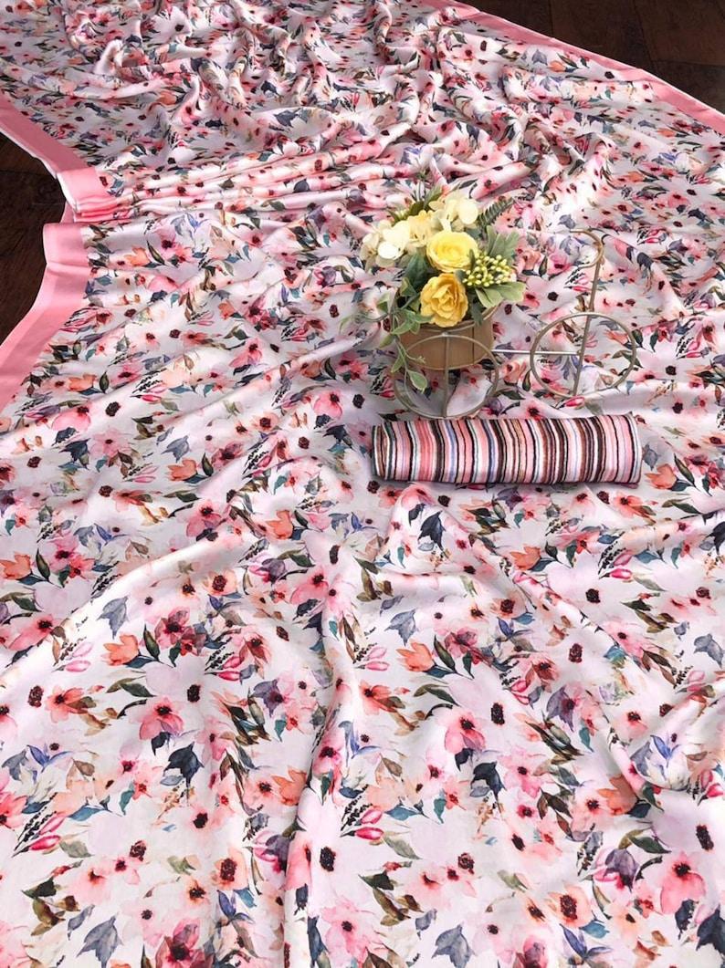 Pink Imported Silk Sartin saree with blouse for women,indian saree silk saree saree dress sari saris designer saree,traditional saree