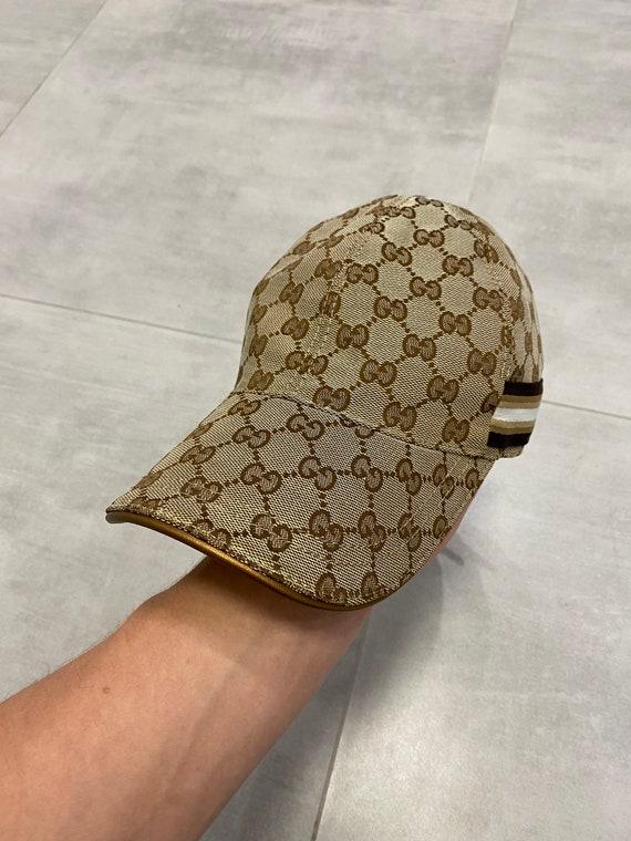 Gucci monogram cap vintage rare / Chanel Balenciag