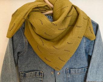 1 X Bandana foulard 100/% coton foulard nickituch écharpe sombre-Violet 2 *