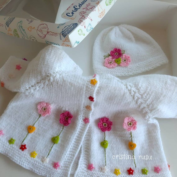 Ready to ship Hand knitted bonnet sizes 0-4 years pineapple Waldorf baby shower gift baby toddler girl boy handknitted knits prop
