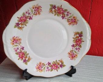 Vintage Wayside 1960s bone china side plate