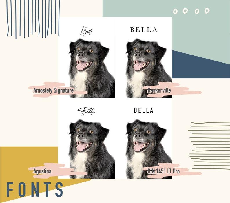 Digital Art Pet Memorial Custom Pet Portrait Custom Digital Pet Portrait Gift Custom Portrait Illustration Commission