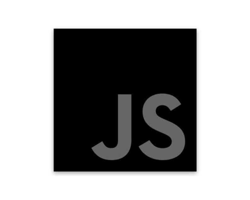 JavaScript Dark Mode Sticker image 0