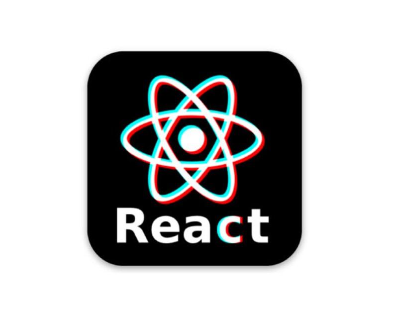 React/TikTok Sticker image 0