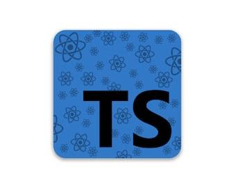 TypeScript/React Sticker