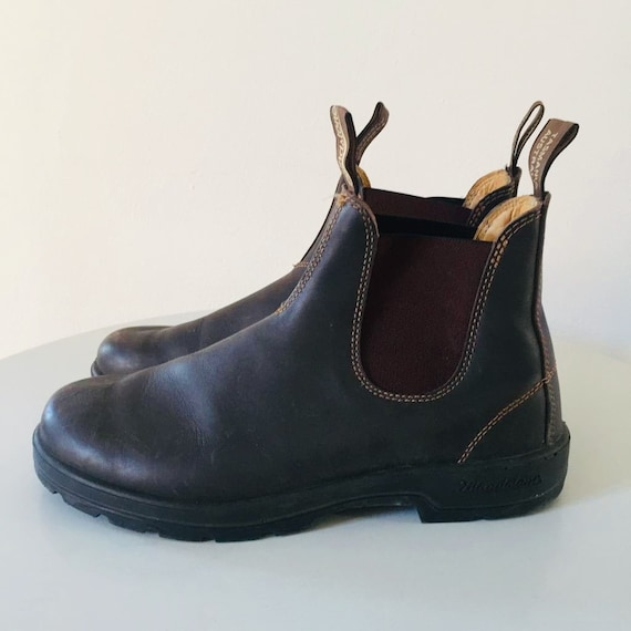 BLUNDSTONE boots brown leather size 10 uk (44 eur)
