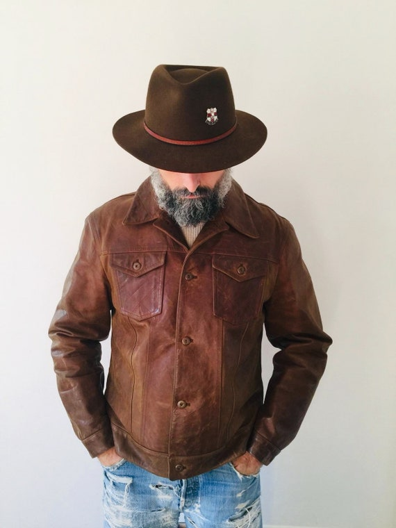 ROY ROGERS perfect 90s leather jacket!