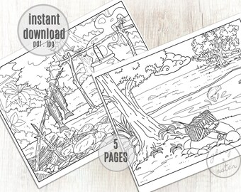 coloring pages : Western Coloring Pages New Coloring Page Cowboy ... | 270x340