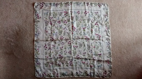 Vintage Scarf, Collectible Scarf, Liberty of Londo