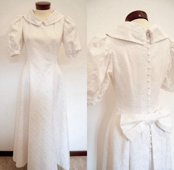 60s wedding dress, Vintage wedding dress, retro we