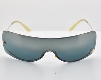 CHANEL mod.4054 moda 90s Pearl Rimless Sunglasses gradient Vintage