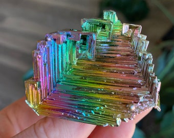 Bismuth Crystal Cluster Rainbow Deposit | Choose Your Own Piece