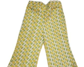 Vintage Flower Power Pants byJ McLaughlin 8