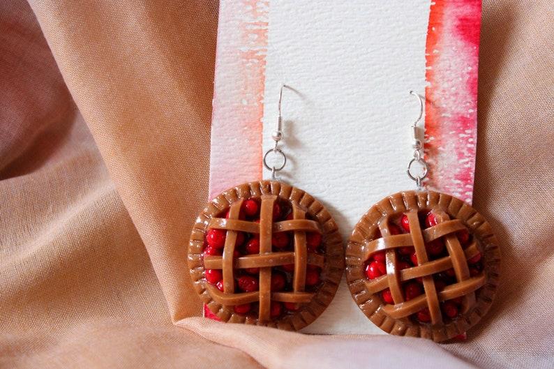 cherry pie earrings PREORDER
