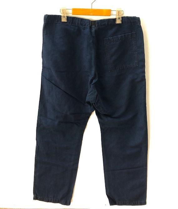 Vintage 45rpm Blue Cropped Pant