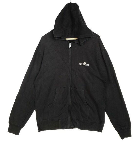 Vintage Carhartt Black Hoodie Size XL