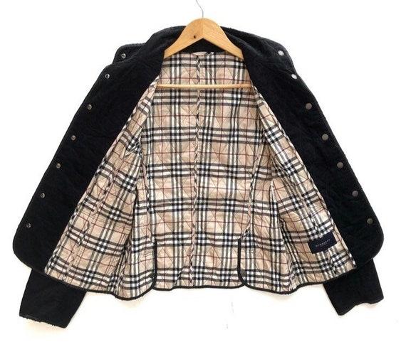 Vintage Burberry Nova Check Corduroy Jacket Size M