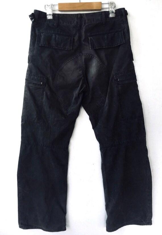 Vintage Attachment Bondage Tactical Cargo Pants