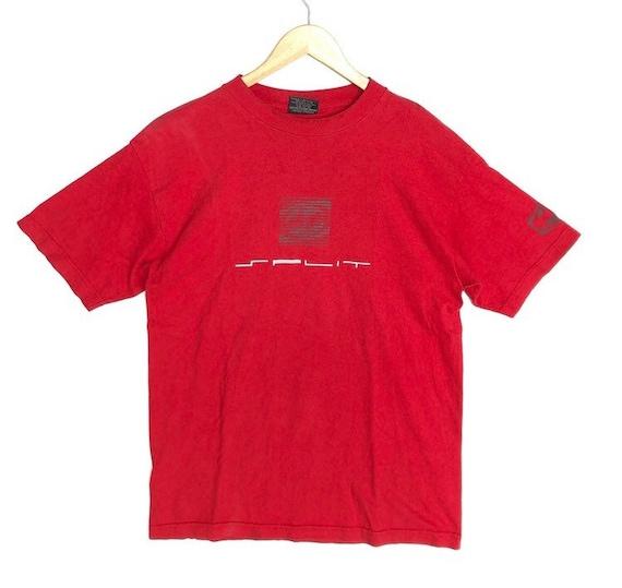 Vintage 90' Split Skateboard T-Shirt Size M