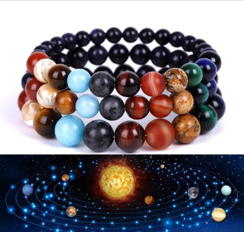 solar system bracelet planets bracelet guardians of the galaxy image 1