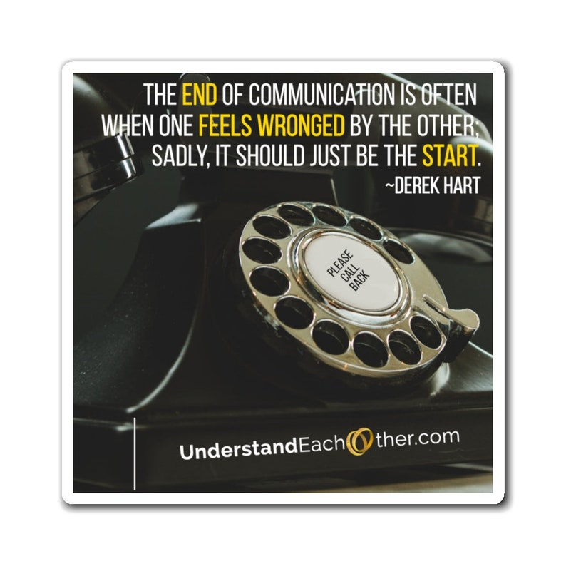 The End Of Communication Should Be The Start image 0