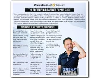 The Soften Your Partner Repair Guide