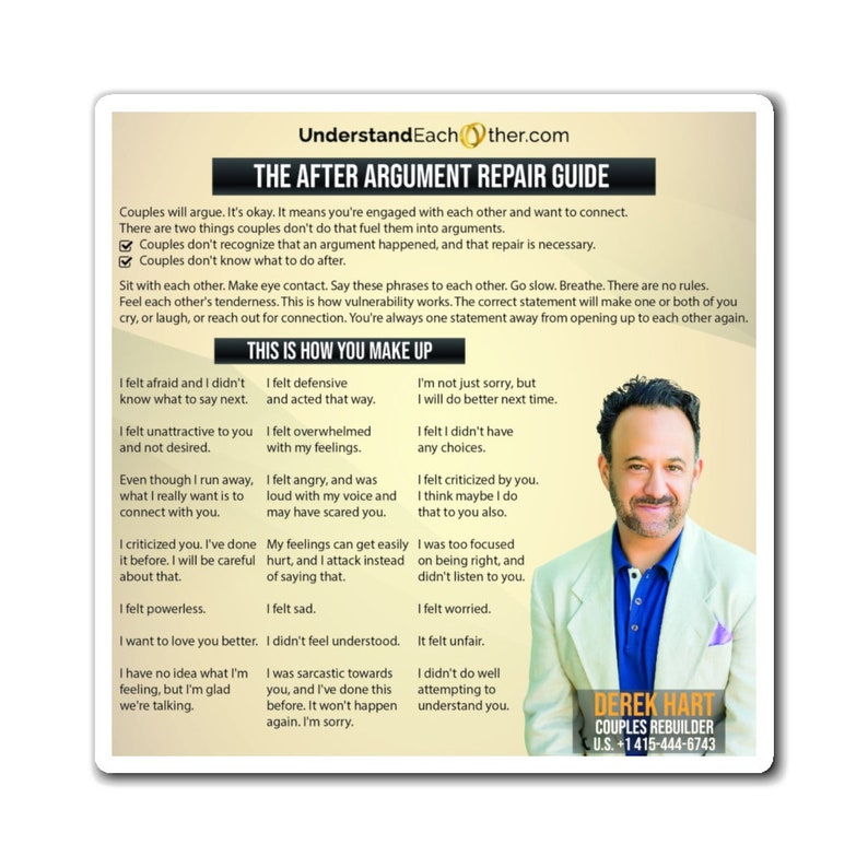 The After Argument Repair Guide image 0