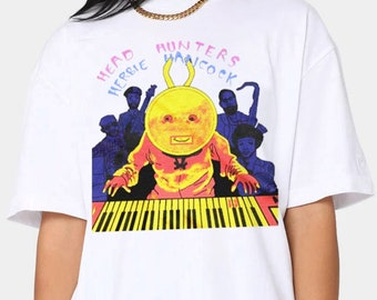 Vintage Herbie Hancock Head Hunters Jazz Singer T-Shirt
