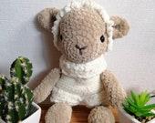 Sheep Curley designed by leamigurumi