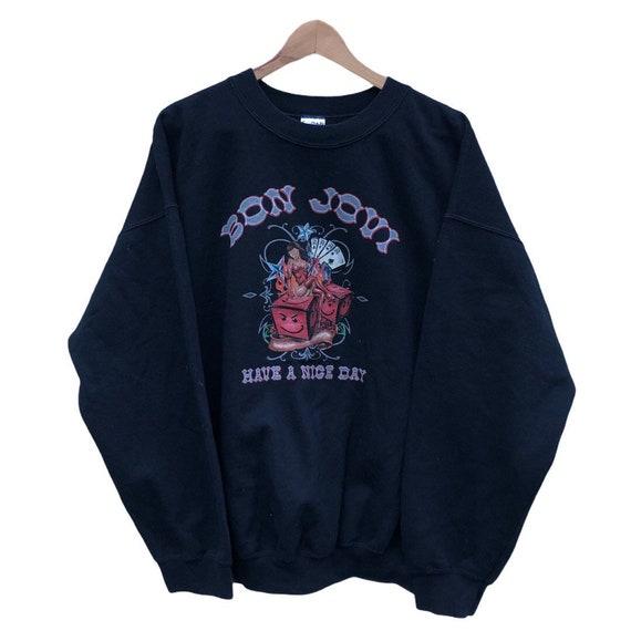 Vintage Gildan Bon Jovi Sweater