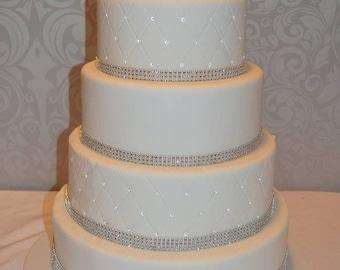 Faux Wedding Cake, 5 Tier Wedding Cake, Fake Wedding Cake, Display Cake, Photo Prop