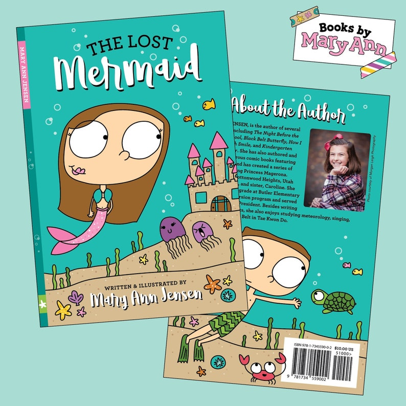 The Lost Mermaid: Written & Illustrated by Mary Ann Jensen image 0