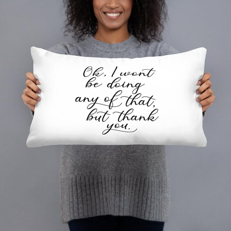 Alexis Rose Quote Pillow A Little Bit Alexis
