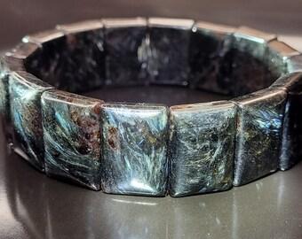 18.5mm+ Astrophyllite Stretch Bracelet Very Very Rare!