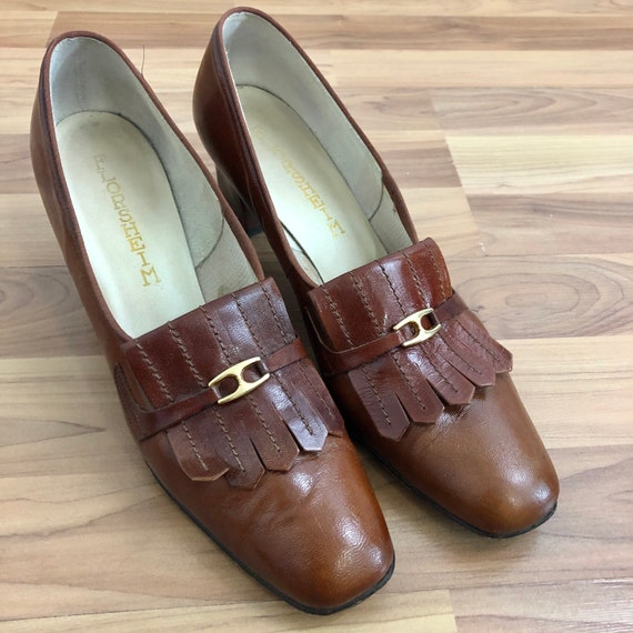 Floresheim Heeled Penny Loafers