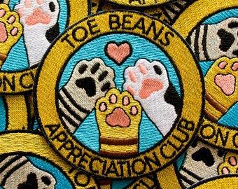 Toe Beans Appreciation Club Patch