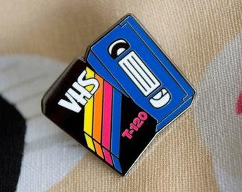 VHS Enamel Pin