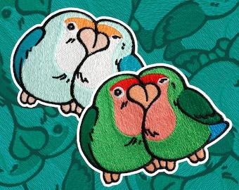 Love Bird Iron-on Patch