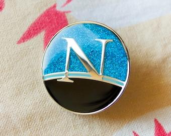 Netscape Navigator Enamel Pin