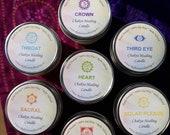 Chakra Healing Candle